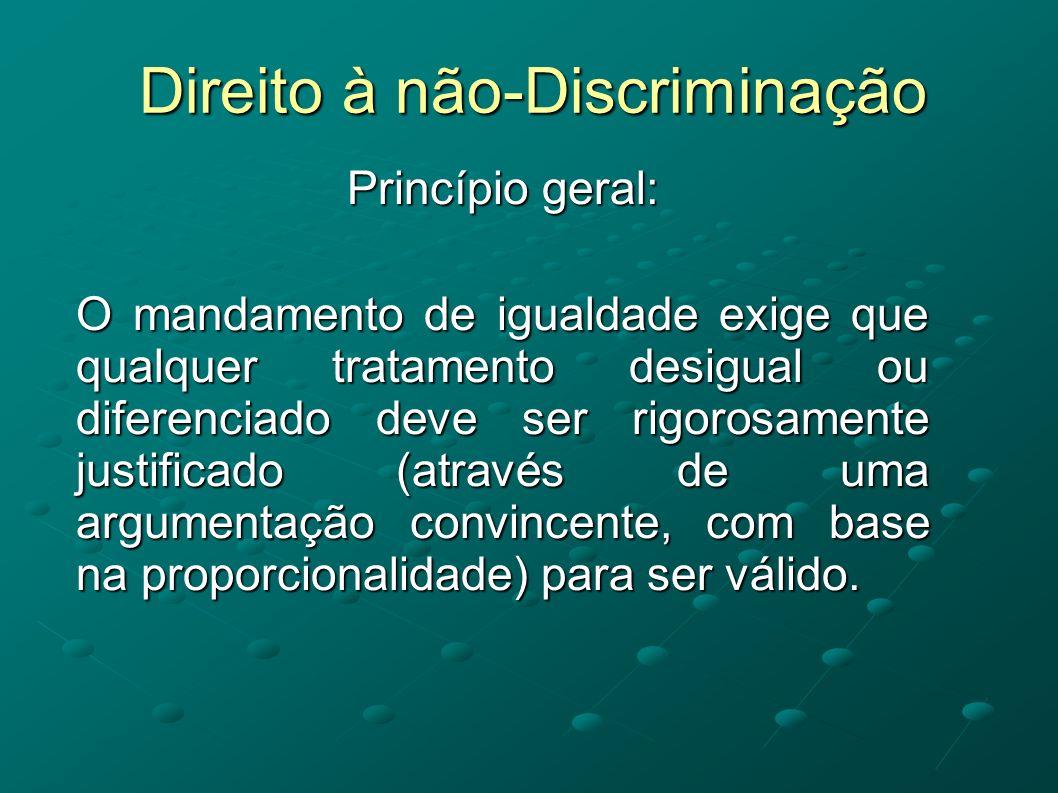 Direito à não-Discriminação