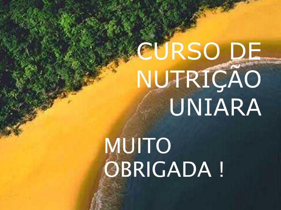 CURSO DE NUTRIÇÃO UNIARA