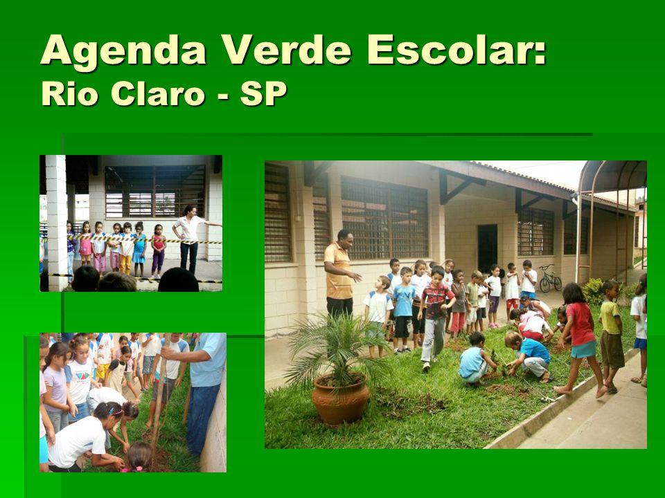 Agenda Verde Escolar: Rio Claro - SP