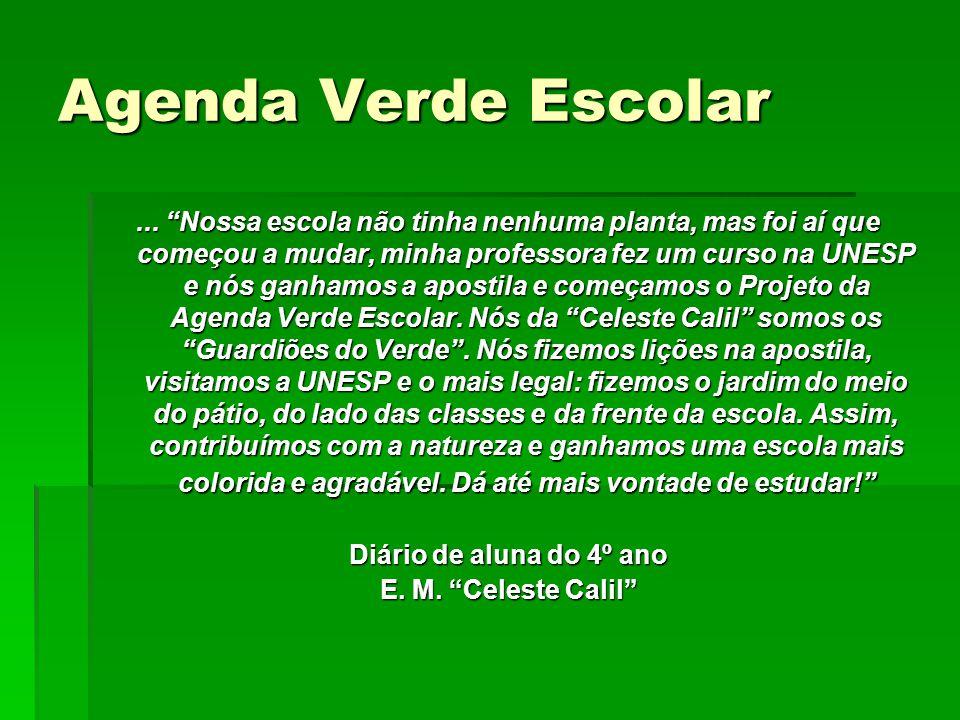 Agenda Verde Escolar