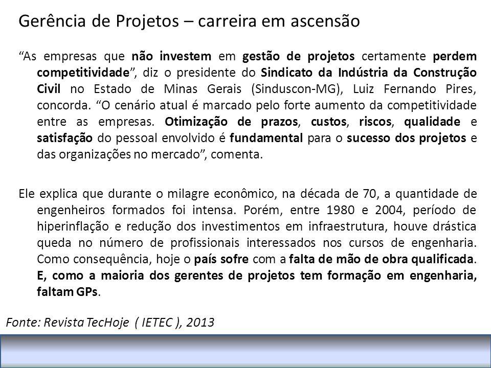 Fonte: Revista TecHoje ( IETEC ), 2013