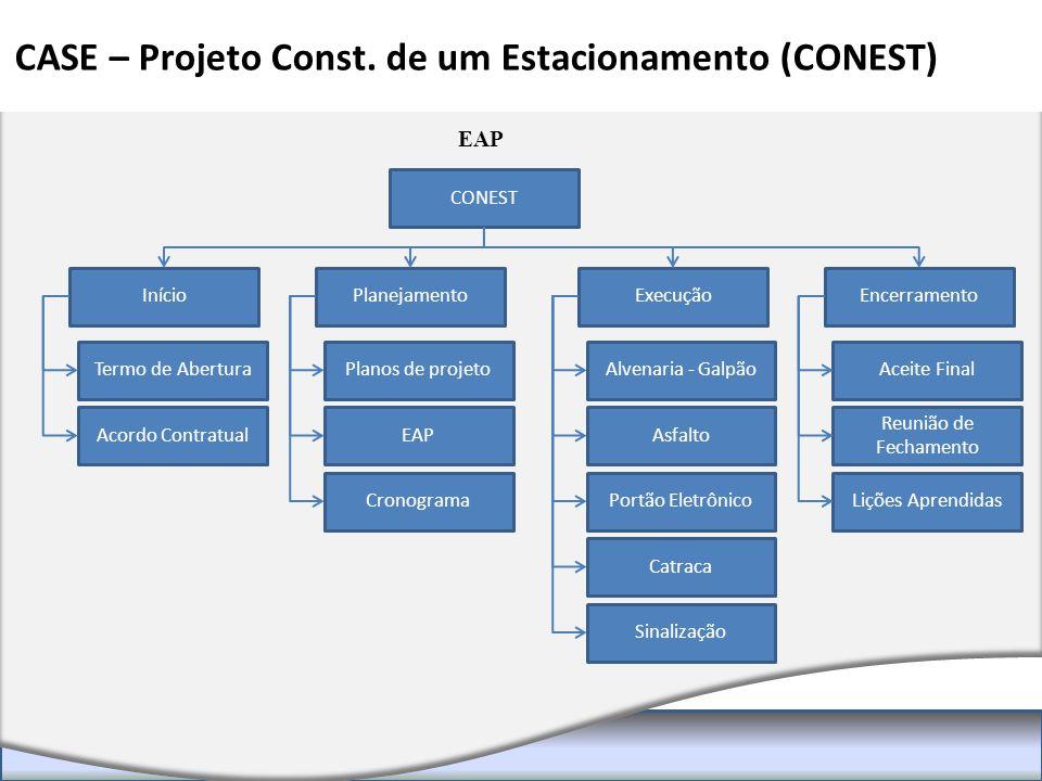CASE – Projeto Const. de um Estacionamento (CONEST)