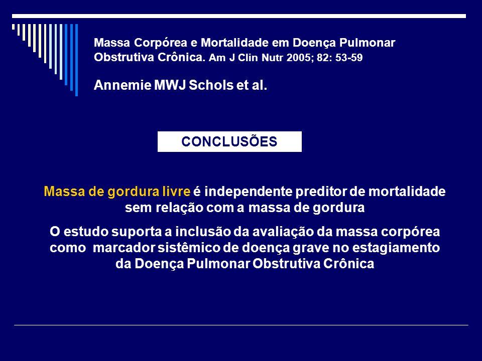Annemie MWJ Schols et al.