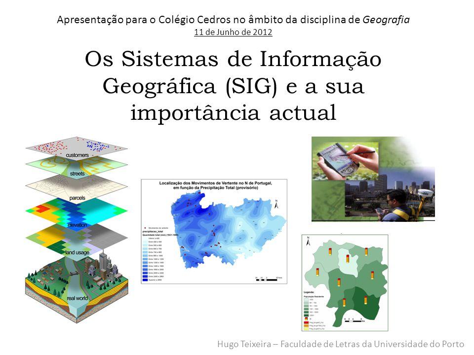 Os Sistemas de Informação Geográfica (SIG) e a sua importância actual