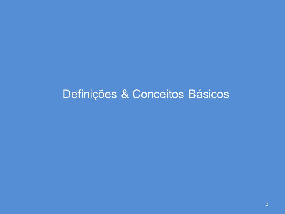 Definições & Conceitos Básicos