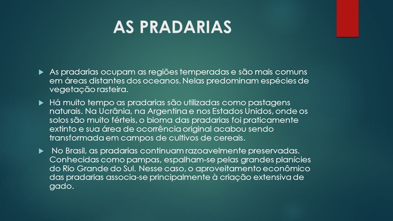 AS PRADARIAS
