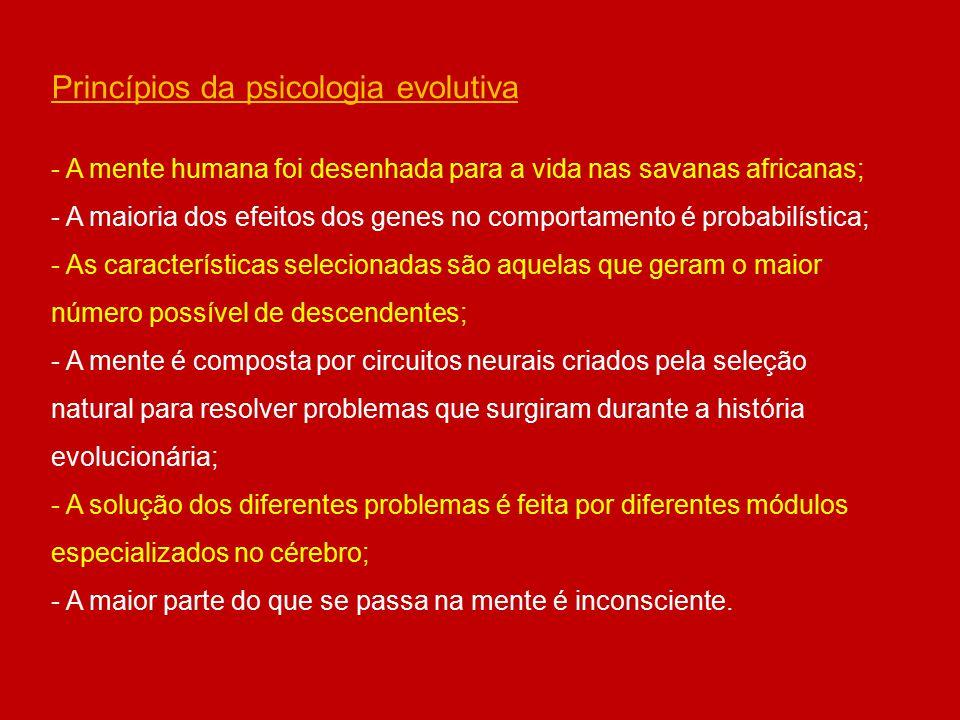Princípios da psicologia evolutiva