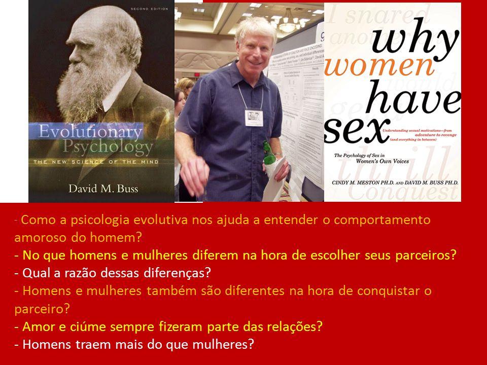 - No que homens e mulheres diferem na hora de escolher seus parceiros