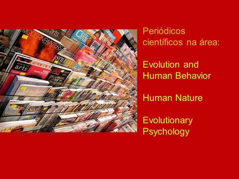 Periódicos científicos na área: