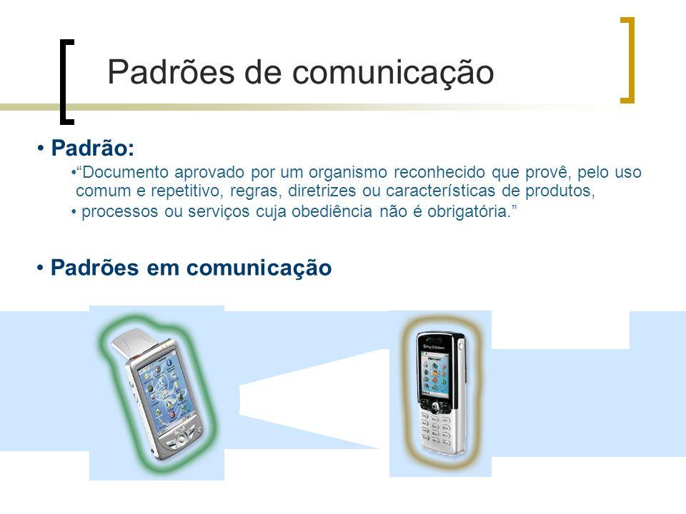 Padrões de comunicação