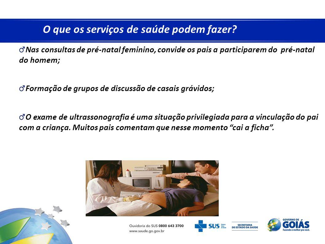 O que os serviços de saúde podem fazer