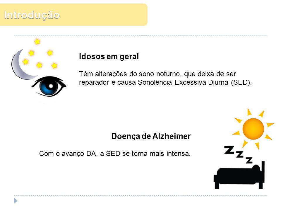 Introdução Idosos em geral Doença de Alzheimer