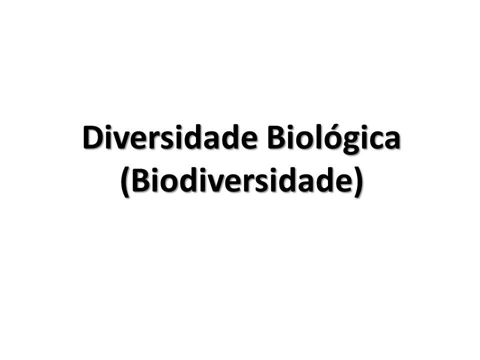 Diversidade Biológica (Biodiversidade)
