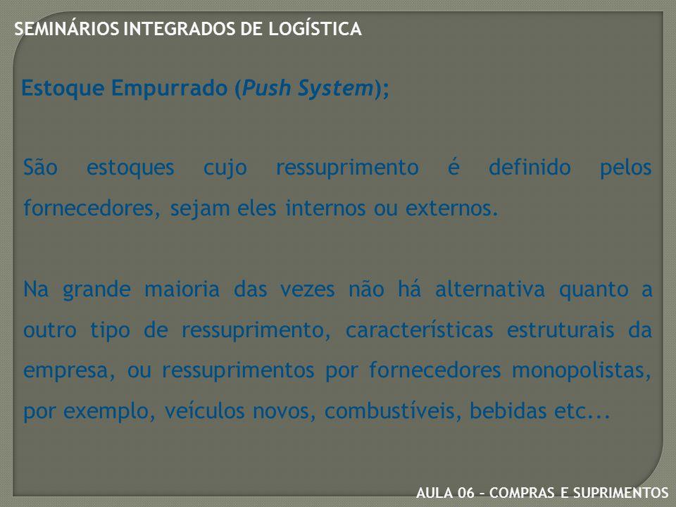 Estoque Empurrado (Push System);