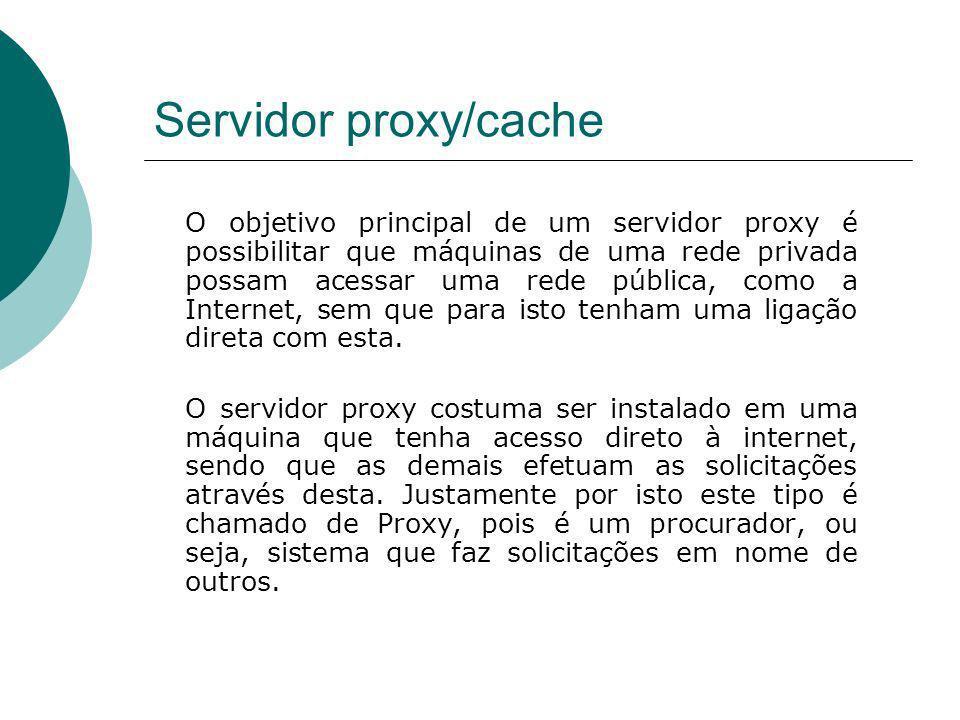 Servidor proxy/cache