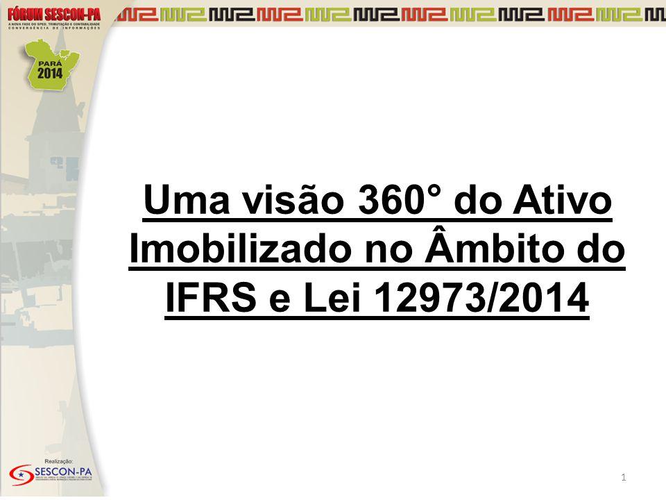 Uma visão 360° do Ativo Imobilizado no Âmbito do IFRS e Lei 12973/2014