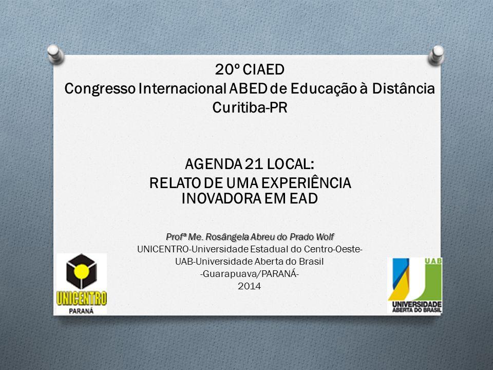 Congresso Internacional ABED de Educação à Distância Curitiba-PR