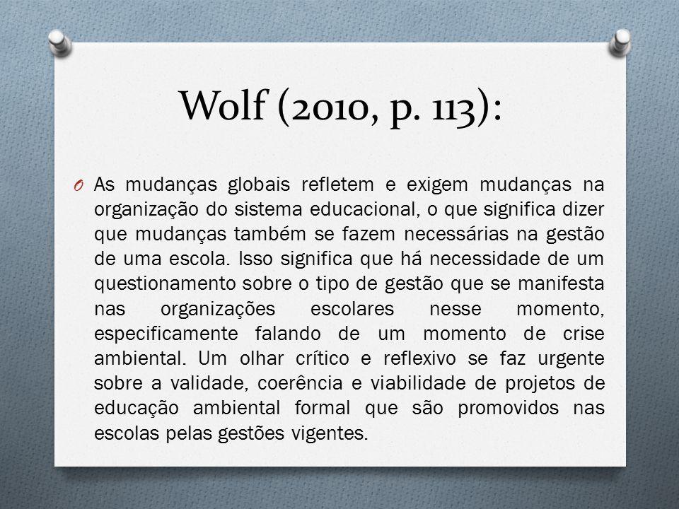 Wolf (2010, p. 113):