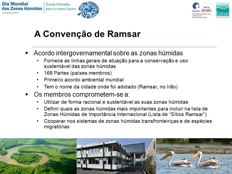 A Convenção de Ramsar Acordo intergovernamental sobre as zonas húmidas