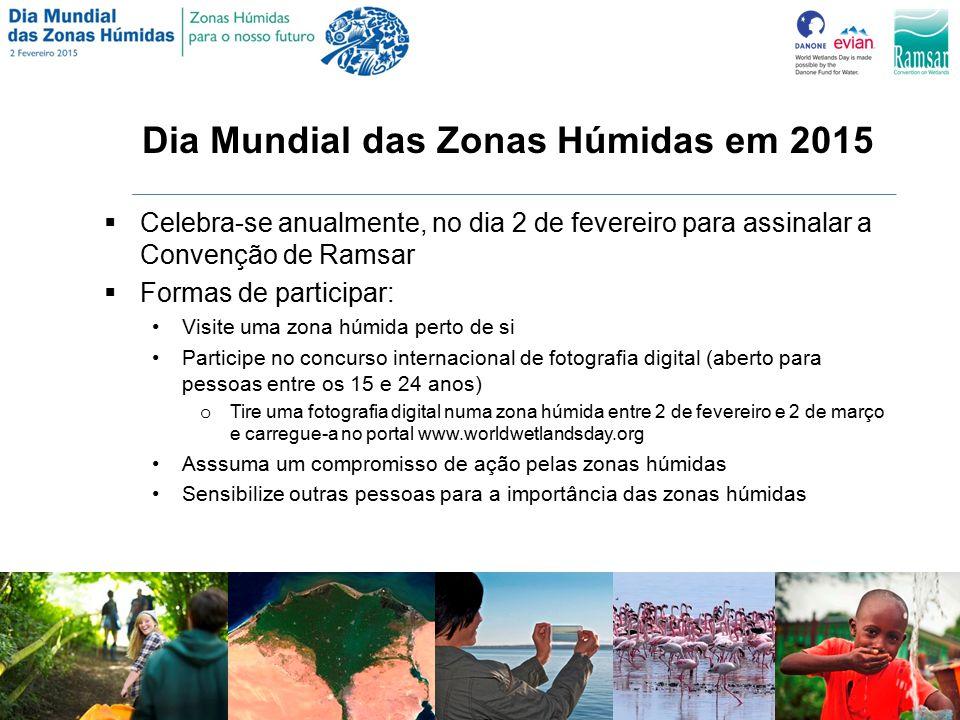 Dia Mundial das Zonas Húmidas em 2015