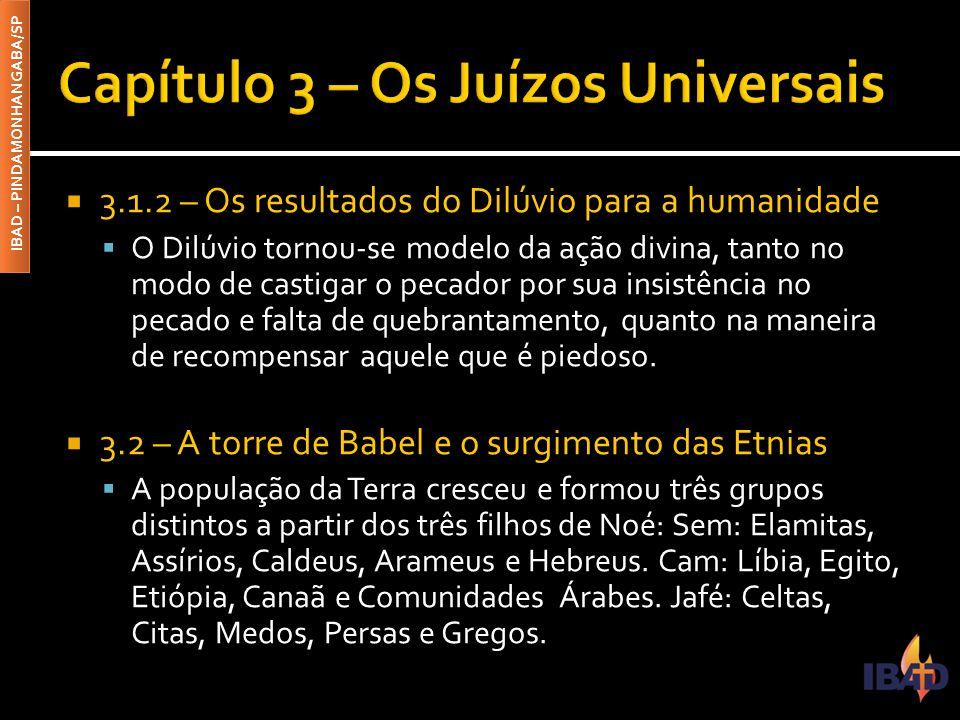 Capítulo 3 – Os Juízos Universais