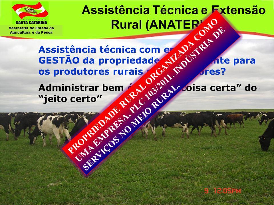 Assistência Técnica e Extensão Rural (ANATER)