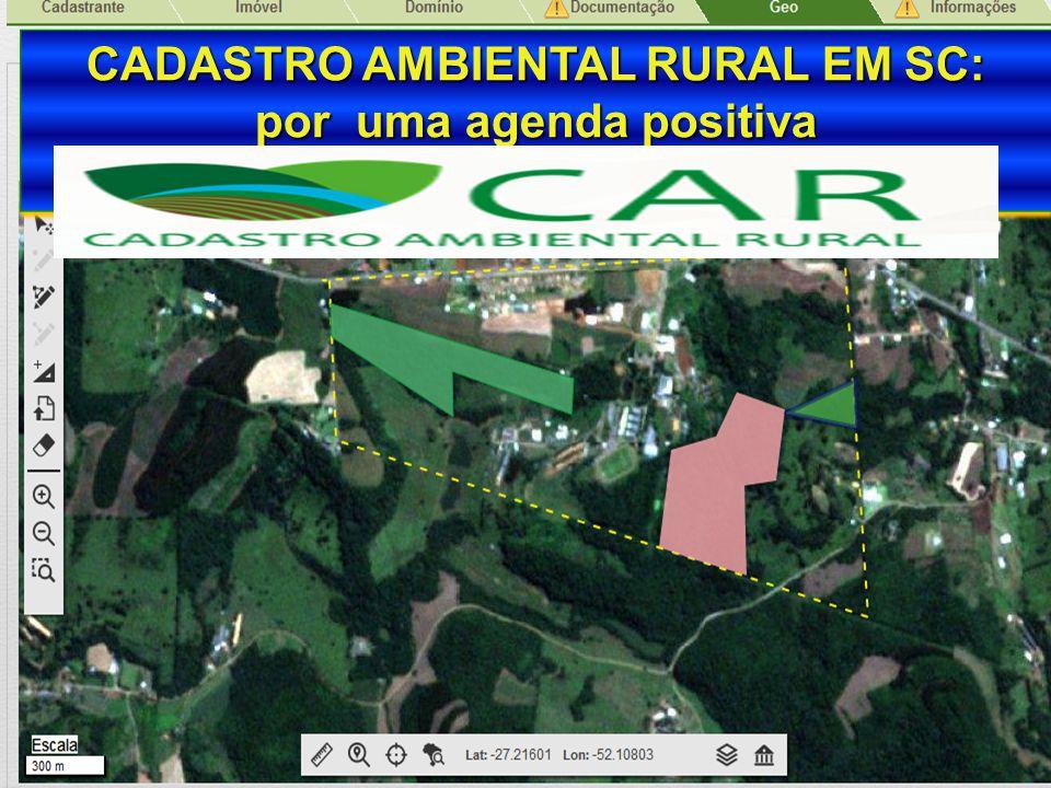 CADASTRO AMBIENTAL RURAL EM SC: por uma agenda positiva