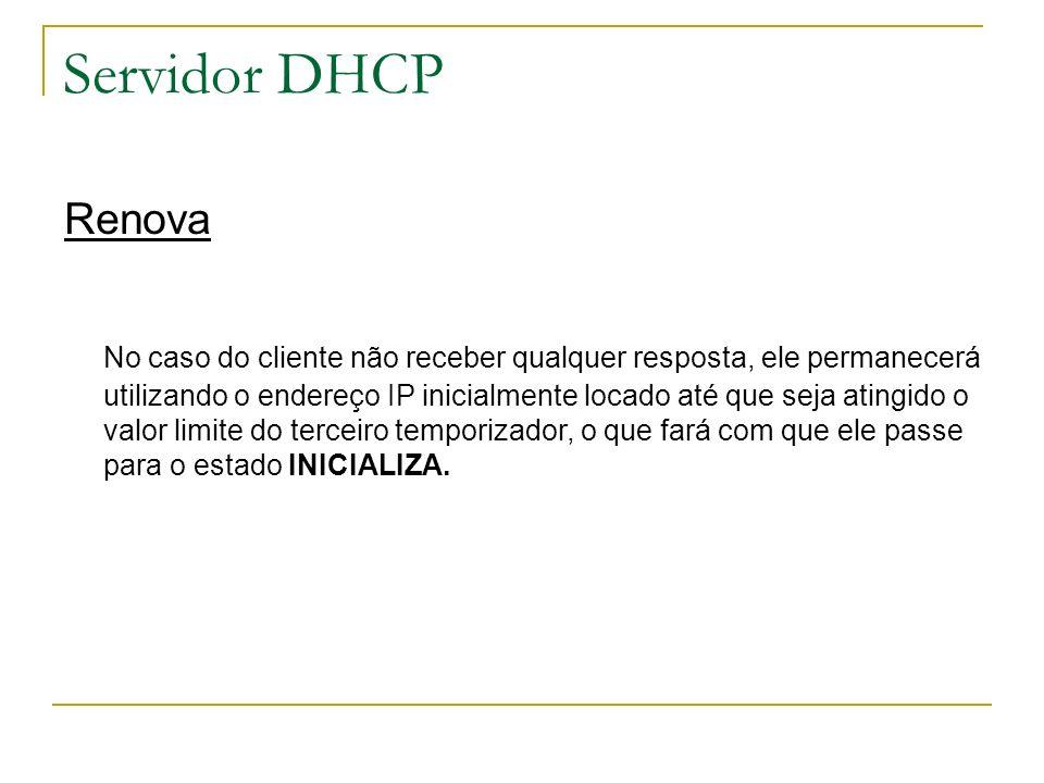 Servidor DHCP Renova.