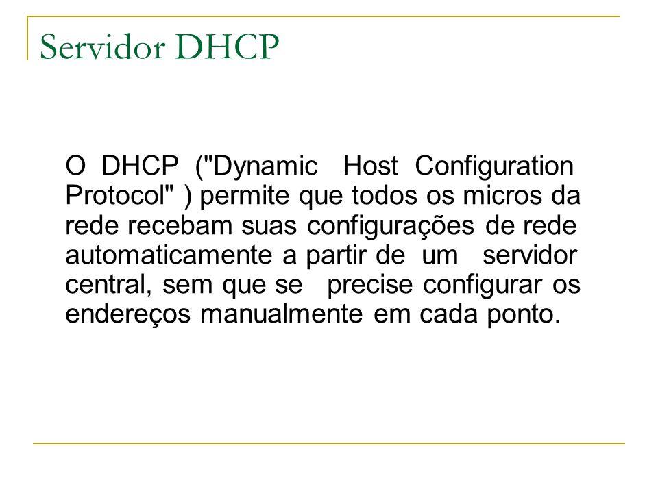 Servidor DHCP