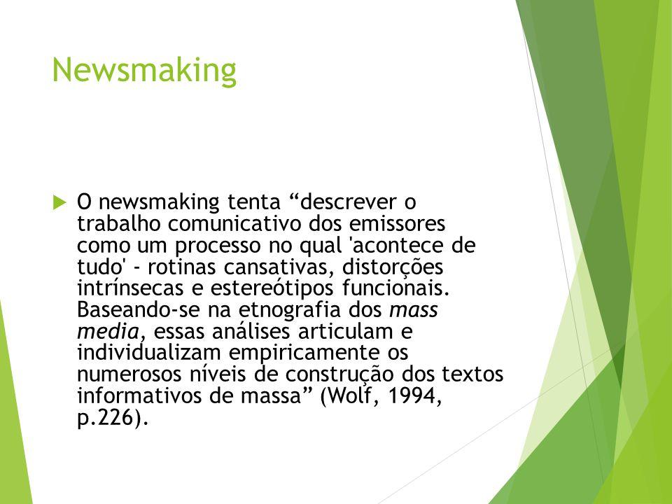 Newsmaking