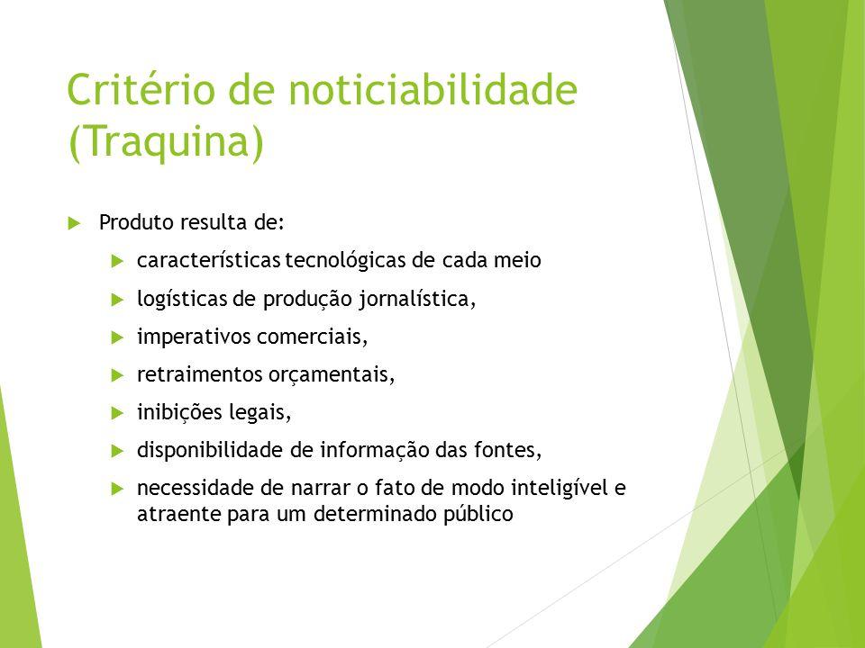 Critério de noticiabilidade (Traquina)
