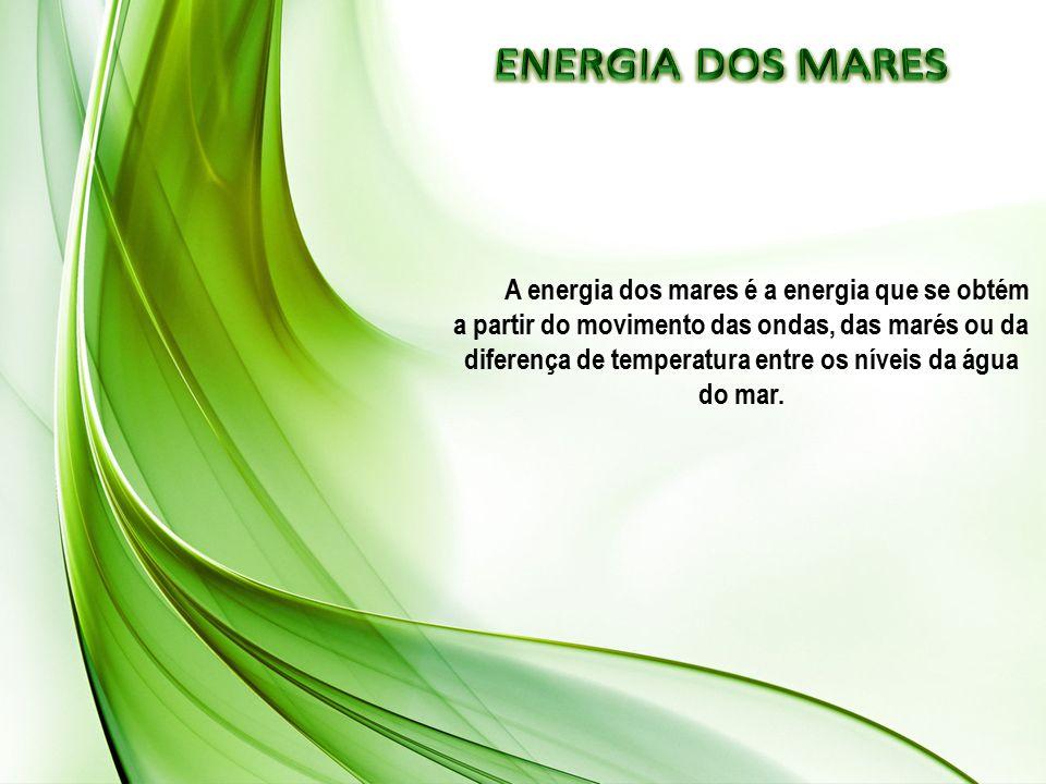 ENERGIA DOS MARES