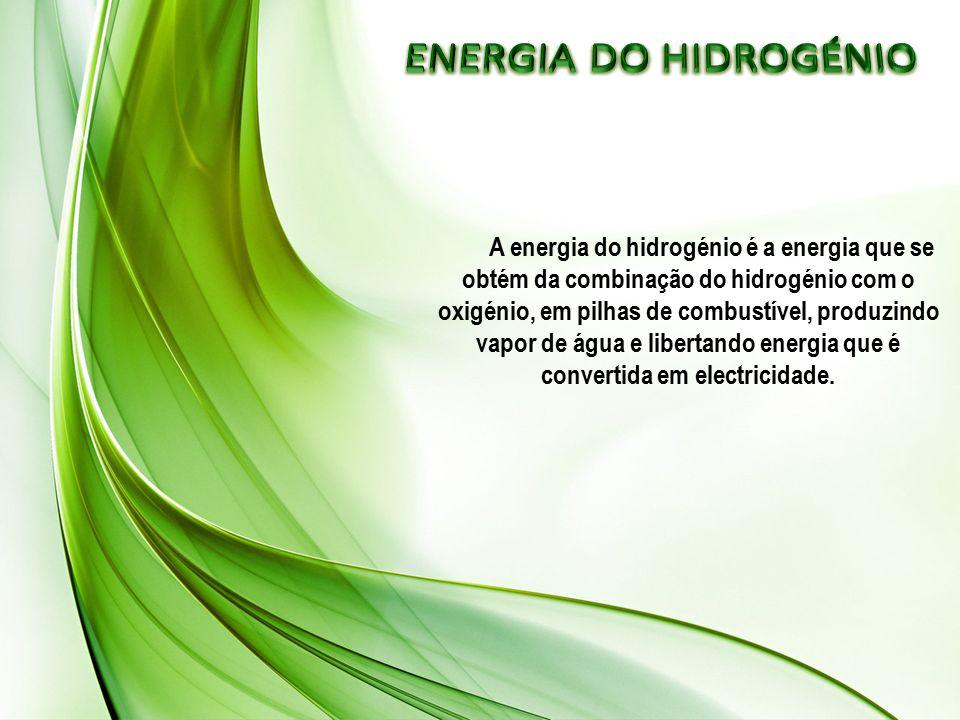 ENERGIA DO HIDROGÉNIO