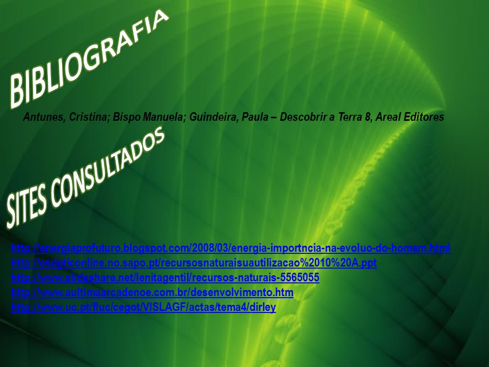 BIBLIOGRAFIA SITES CONSULTADOS