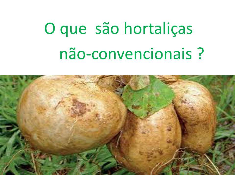 O que são hortaliças não-convencionais