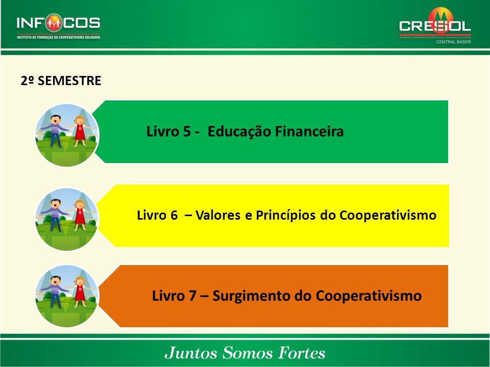 Livro 5 - Educação Financeira Livro 7 – Surgimento do Cooperativismo
