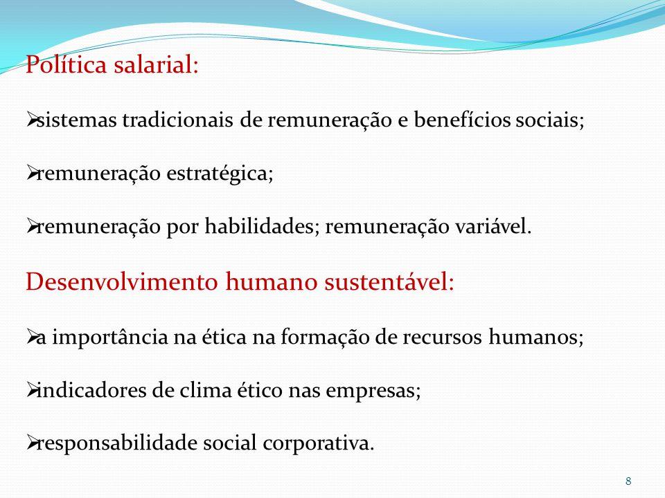 Desenvolvimento humano sustentável: