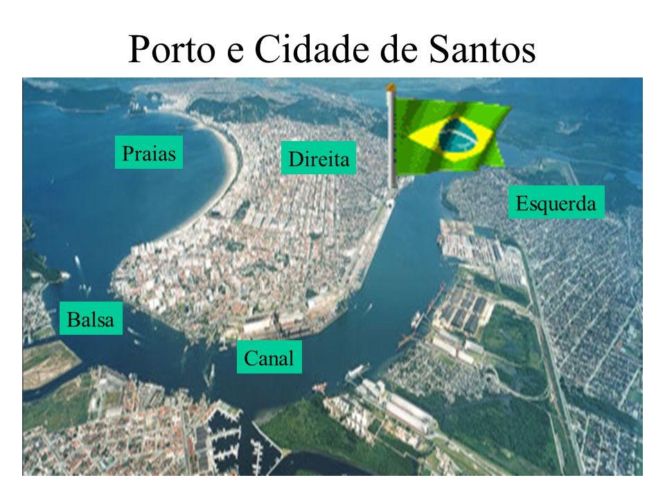 Porto e Cidade de Santos
