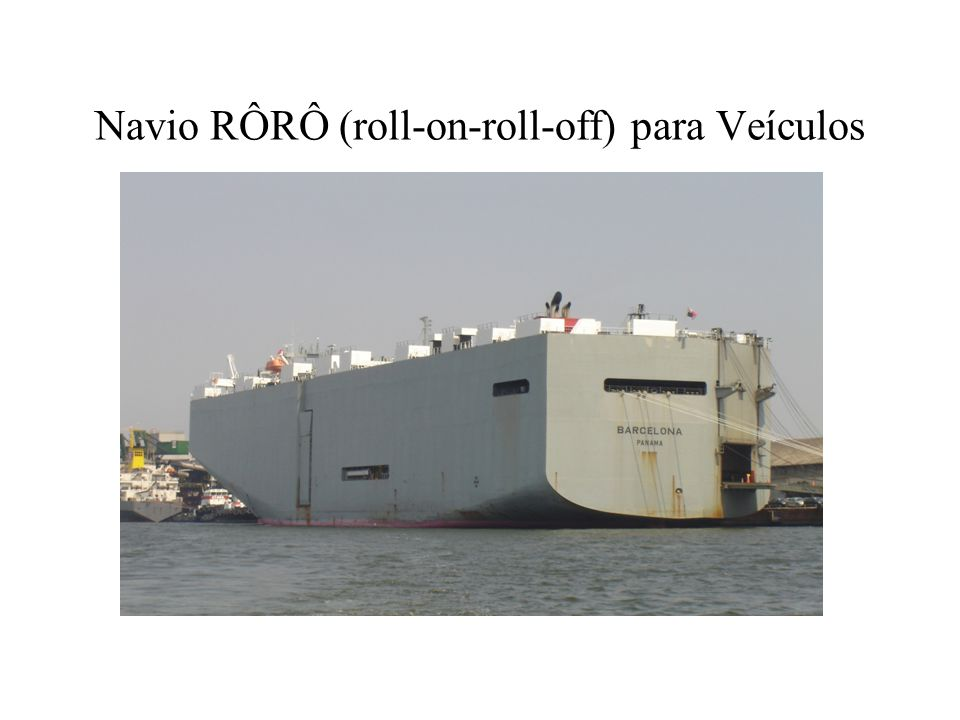 Navio RÔRÔ (roll-on-roll-off) para Veículos