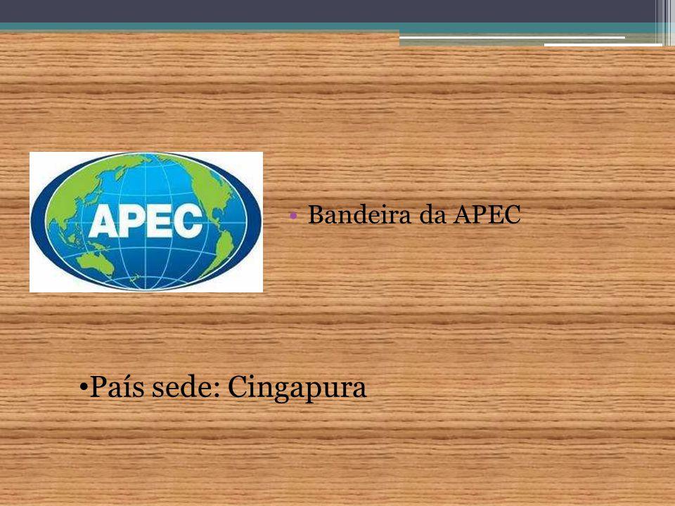 Bandeira da APEC País sede: Cingapura