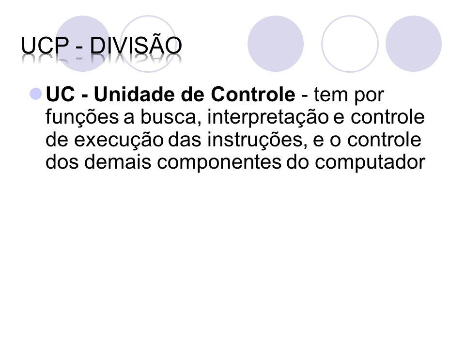 UCP - DIVISÃO