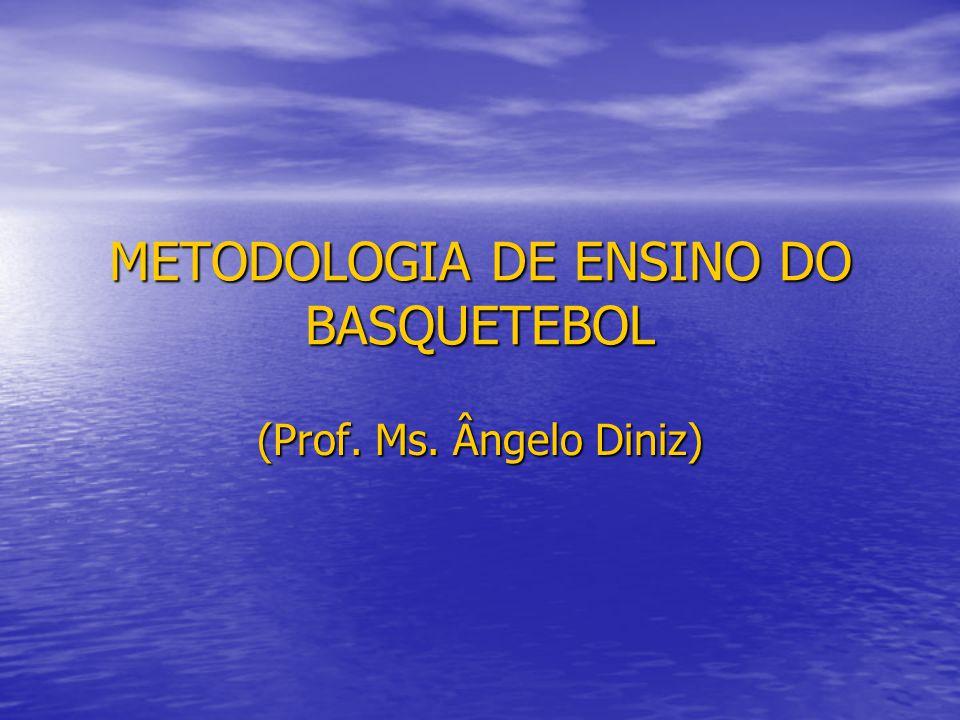 METODOLOGIA DE ENSINO DO BASQUETEBOL