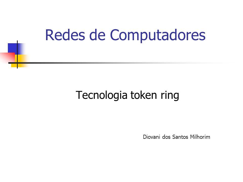 Tecnologia token ring Diovani dos Santos Milhorim
