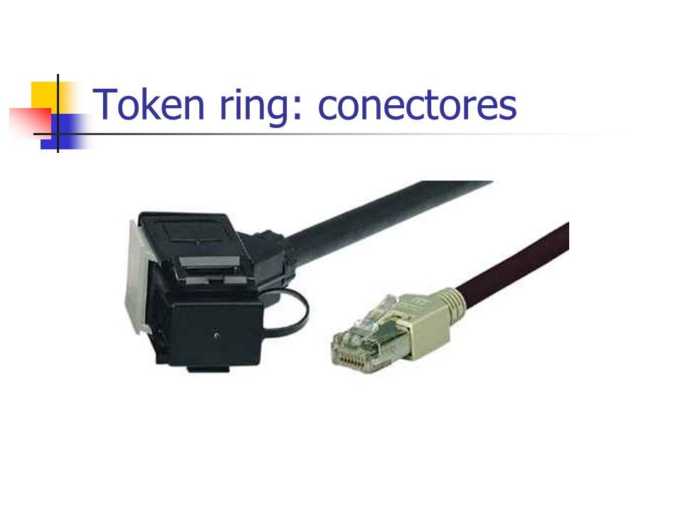 Token ring: conectores