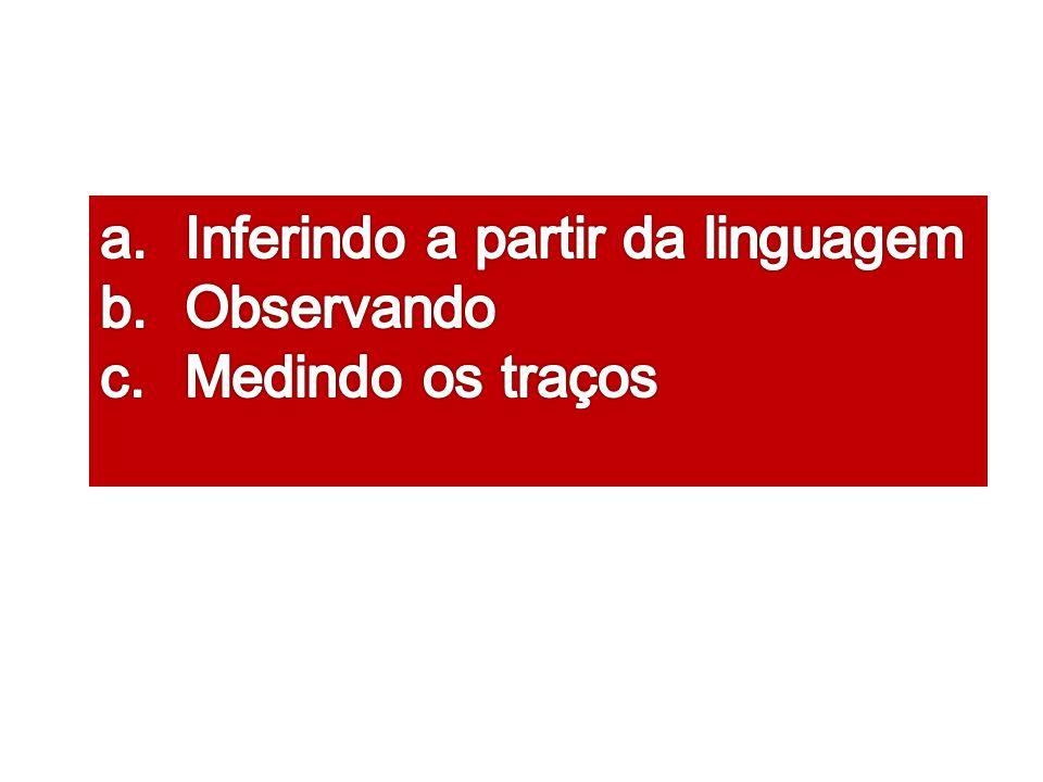 Inferindo a partir da linguagem