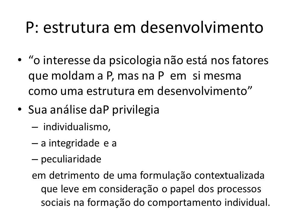 P: estrutura em desenvolvimento