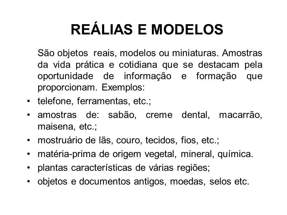 REÁLIAS E MODELOS