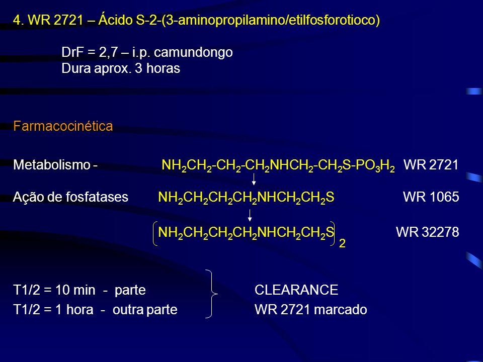 4. WR 2721 – Ácido S-2-(3-aminopropilamino/etilfosforotioco)