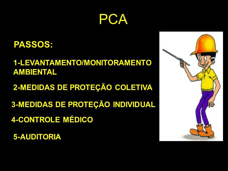 PCA PASSOS: 1-LEVANTAMENTO/MONITORAMENTO AMBIENTAL