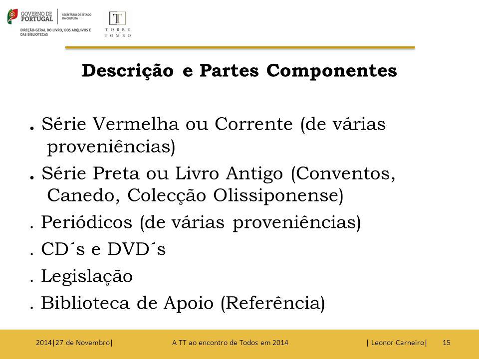 Descrição e Partes Componentes